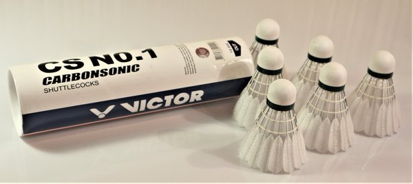 Victor Carbonsonic No.1, carbon shuttlecocks (6 pcs)